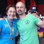 La directora de la EGE, doble medallista en el Campeonato Interfederativo Nacional de TPV